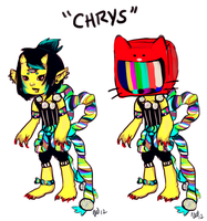 Chrys (redesign) by VEEDUBBZ