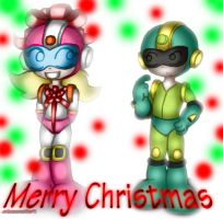 Merry Christmas, Megaman by Gauntlet101010