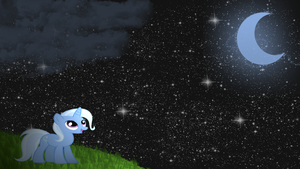 Trixie Star Gazing Wallpaper by armando92