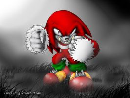 Knuckles the WereEchidna by Frankyding90