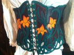 Asiatic Lily Underbust Armor, front by SavagePunkStudio