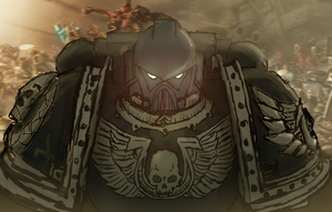 WH40K SpaceMarine by ocReaper
