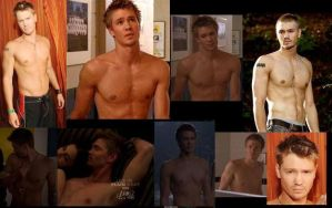 Chad Michael Murray SHIRTLESS collage by slayerxy