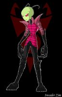New improved Invader Zim by Boos-girl666