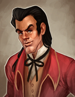Gaston by daPatches