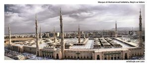 Prophet's Mosque 1 by bx