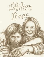 Selfie - Faramir and Eowyn by rstrider9
