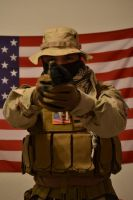 Delta Force Cosplay -Medal of Honor Warfighter- by anbuSquadLeader