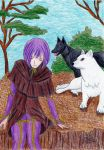 Wolf Rain full color finished by ShelandryStudio