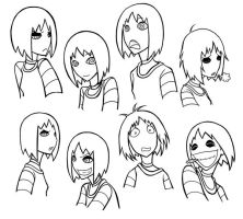 Drew expressions by Tamura