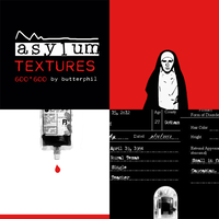 AHS - Asylum texture pack by Butterphil
