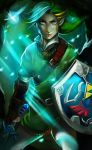Link: The Warrior, The Fairy, and The Fireflies by YETI000