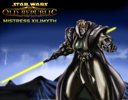 XILI THE JEDI SHADOW by B9TRIBECA