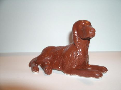 Clay Irish Setter 2 by Pataflafla-Ratamacue
