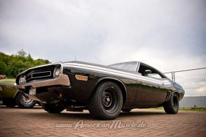 black 71 challenger rt by AmericanMuscle