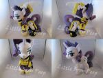 mlp Wonderbolts General Rarity plush (commission) by Little-Broy-Peep