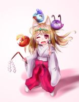 Ciara - Brave Frontier - we are not spirits! by Loliconyan