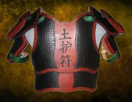 Fantasy Chinese Armor by BurkesBulwarks