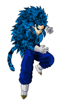 Vegetto SSJ 14 V3 by ansemporo002