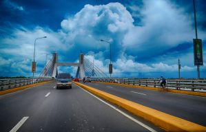 Mactan Bridge HDR by abe70280