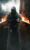 .::  King of Flames PSD File ::. by SV-Blackart
