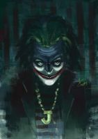 Joker in Jail by cheatingly