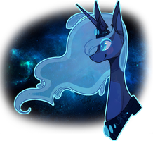 # Princess Luna, the best pony by gigifeh