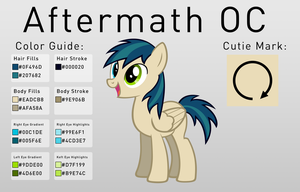 Aftermath Pony OC by AftermathMusic