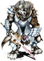 Rifts_Fantasy_Wolfen_by_madjaguar by Xeno-Crazy