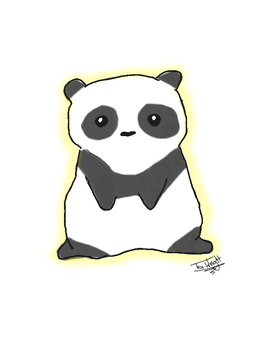 Panda by TheSnickers545
