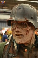 Zombie Soldier Cosplay - Montreal Comiccon 2014 by ConMenWebSeries