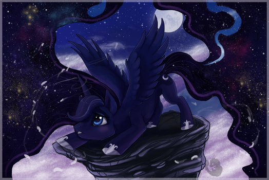 Princess Luna by Kyuubreon
