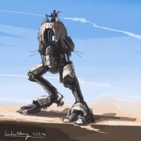 Desert runner by Deano-landon