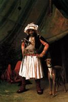 The Albanian Warrior And This Dog In Egypt 1818 by eduartinehistorise