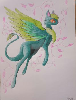 PegaPurr (Green) by SyndralValor