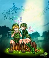Ocarina Lessons by PaintingSymphony