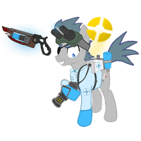 Dr. LOSWEITER! by nullpony-exception