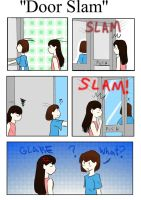 Door Slam by TheArtgrrl