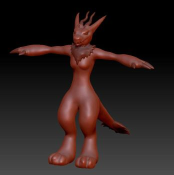 Wickerbeast 3D Model Preview by TaoKyuubimon
