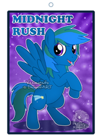Midnight Rush Badge by Veemonsito