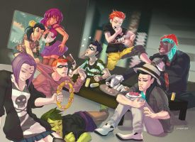Titans Karaoke Party by pinku