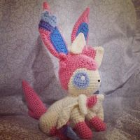 Sylveon (Crochet) by SirPurlGrey