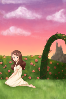 In the Castle Garden by Rin-luver
