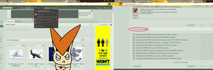 Wtf is wrong with dA by PokemonBWishesCilan