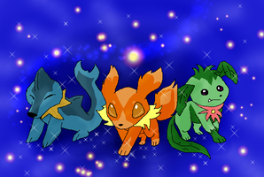my starter pokemon by timmy-gost