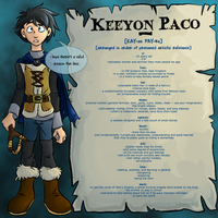 General Reference: Keeyon Paco by tamia-shade