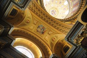 Cathedral art of Belgrade by drewhoshkiw