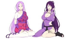 Hania and hime hyuga by Rarity-Princess