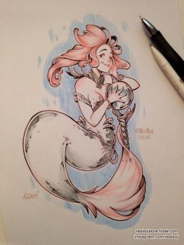 MerMay 2017 day 15 by redisoj