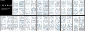 Music Video Storyboard by mavartworx